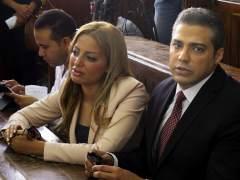 El Tribunal de El Cairo condena a 3 periodistas de Al Yazira a tres a�os de c�rcel