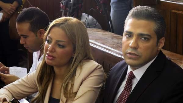 Periodistas condenados en Egipto