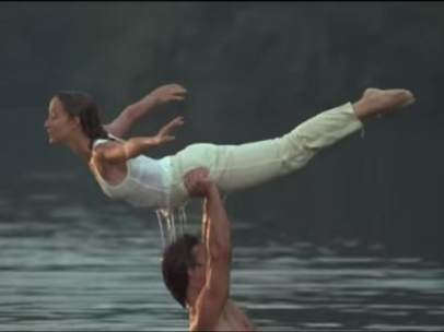 Escena del lago de 'Dirty Dancing'