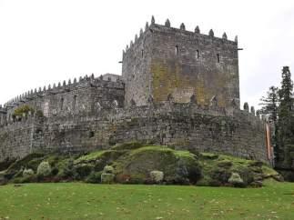 Castillo de Soutomaior (Pontevedra), donde el PP abre su curso pol�tico desde 2007