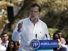"""Rajoy ataca a los que se unen """"para romper"""" en Espa�a y Catalu�a"""
