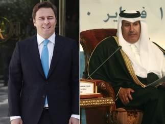 Dimas Gimeno y Hamad Bin Jassim Bin Jaber Al Thani