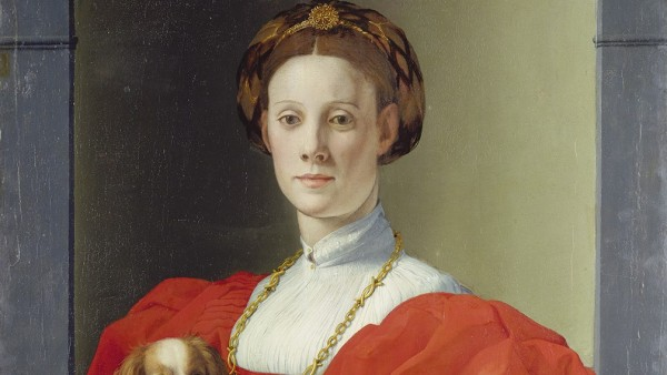 Agnolo Bronzino - Portrait of a Lady in red, 1532-35