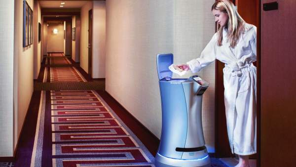 Robots de hotel