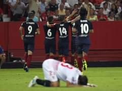 El Atleti da un golpe de autoridad ante el Sevilla