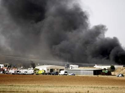 Explosi�n en una pirotecnia de Zaragoza