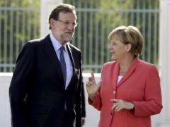 Rajoy visita a Merkel en Berl�n