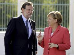 Merkel recibe a Rajoy en Alemania para abordar la crisis migratoria