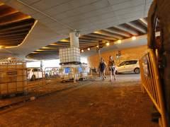 Las obras dificultan la vuelta de las vacaciones en Madrid