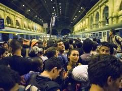 Hungr�a cierra durante horas la estaci�n de Budapest