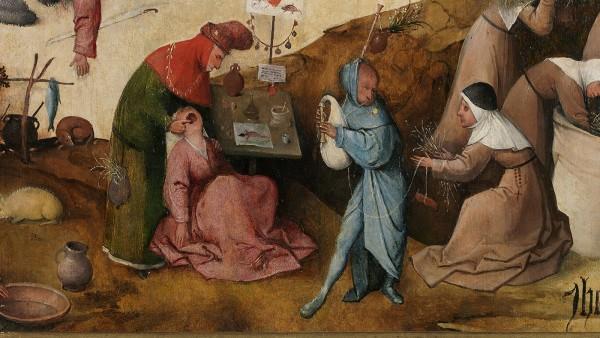 Jheronimus Bosch, Haywain-triptych (Details)