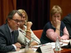 """Artur Mas: """"No hab�a ning�n otro recurso que convocar elecciones"""""""