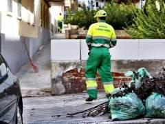 Limpieza en la ciudad de Madrid.