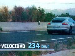 El coche deportivo de Antonio Amaya