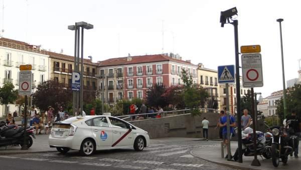 Cámaras de control de tráfico en Madrid