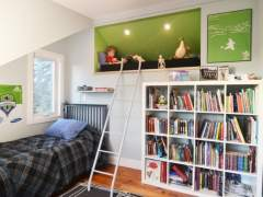 Un dormitorio para proteger a los niños de las alergias