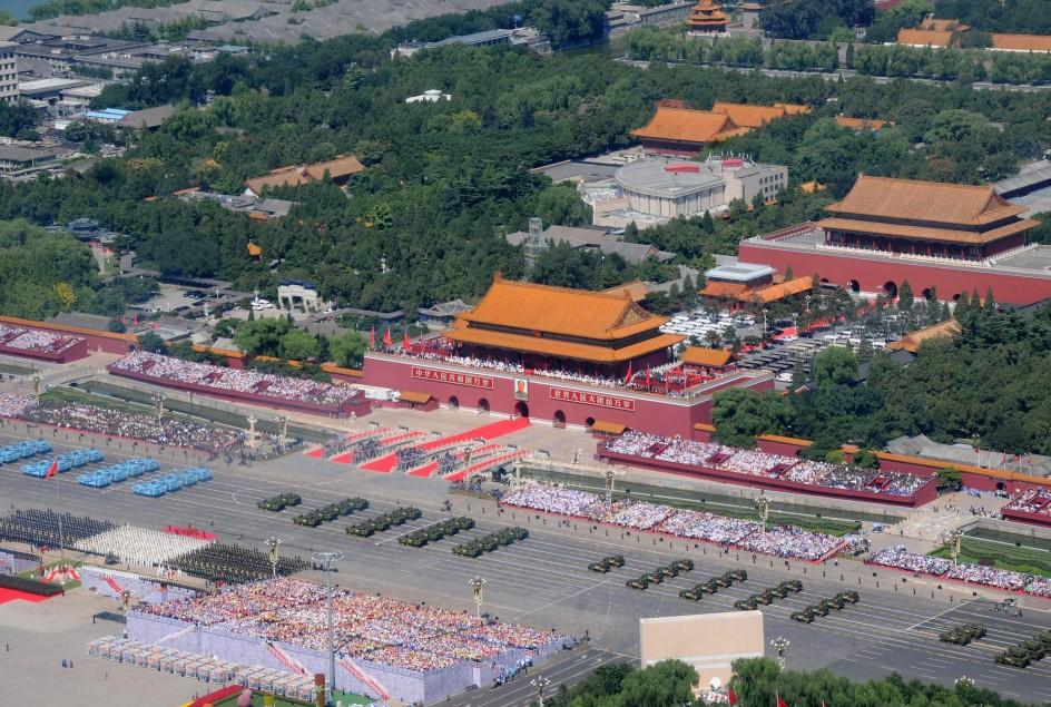 China conmemora el fin de la Segunda Guerra Mundial