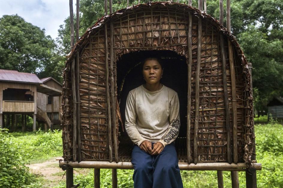 Cabañas de solteras en Camboya