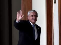 Un juez dicta prisi�n provisional para el expresidente de Guatemala