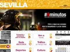 Web del Ayuntamiento de Sevilla.