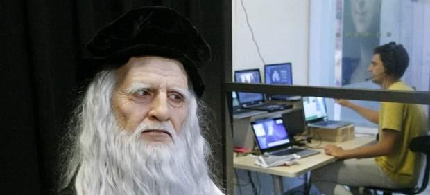 Leonardo da Vinci 'revive' en forma de androide