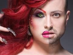 Drag queens neoyorquinos medio transformados