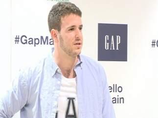Álex Lecquio, hijo de Ana Obregón y el conde Alessandro Lecquio en un evento de GAP