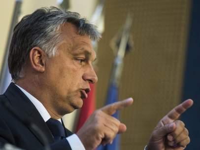 El primer ministro húngaro, el conservador nacionalista Viktor Orbán