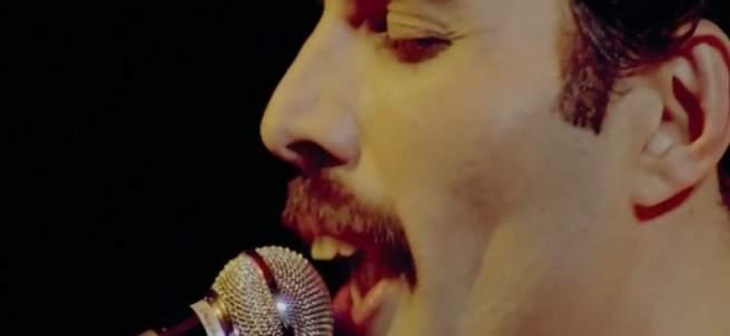 Primer plano de Freddie Mercury