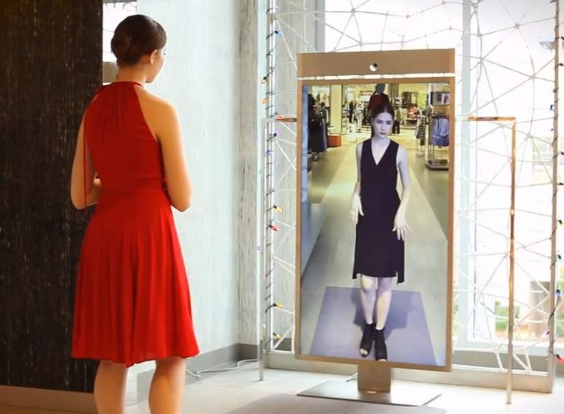 Memomi el 39 espejo m gico 39 en el que uno se ve con ropa for Cuanto vale un espejo grande