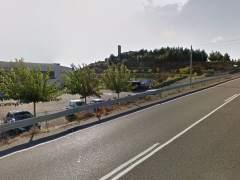 Carretera en Soses