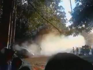Accidente mortal del rally de A Coruña