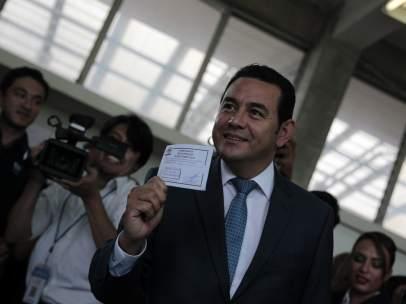 Elecciones en Guatelama