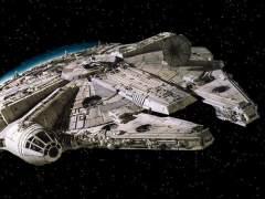 El Halcón Milenario en 'Star Wars VIII'