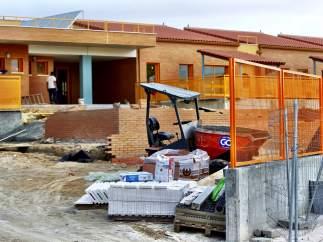 Colegio en obras al inicio del curso escolar