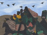 Jacob Lawrence. The Migration Series. 1940-41. Panel 3
