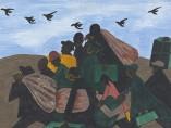 Jacob Lawrence. The Migration Series. 1940-41. Panel 3