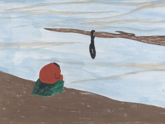 Jacob Lawrence. The Migration Series. 1940-41. Panel 15