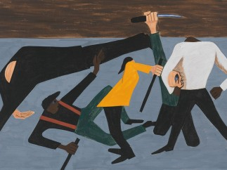Jacob Lawrence. The Migration Series. 1940-41. Panel 52