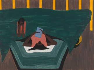 Jacob Lawrence. The Migration Series. 1940-41. Panel 33