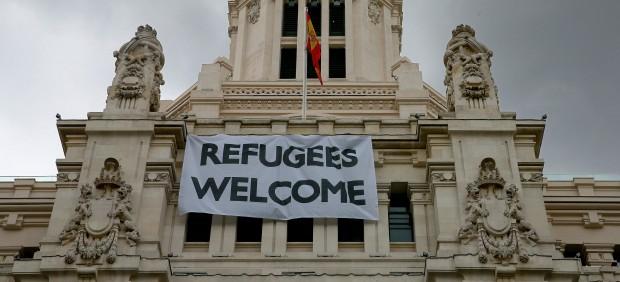 España acoge este miércoles a otros 27 refugiados, que llegan desde Italia