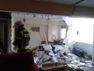 Explosión en Carabanchel