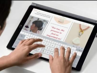 iPad Pro, Apple adopta el lápiz para su tableta más grande