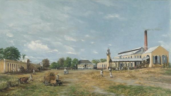 Francisco Oller (Puerto Rican, 1833–1917). Hacienda La Fortuna, 1885