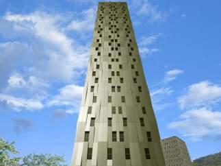 Rascacielos sostenible más alto del mundo, en Bilbao