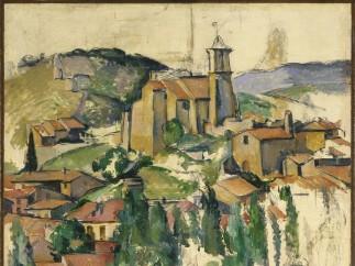Paul Cézanne (French, 1839–1906). The Village of Gardanne (Le Village de Gardanne), 1885-1886