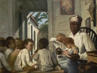 Francisco Oller (Puerto Rican, 1833–1917). The School of Master Rafael Cordero, circa 1890
