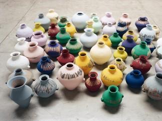Coloured Vases, 2015