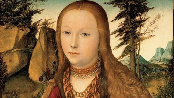 'Die Heilige Barbara', um 1530