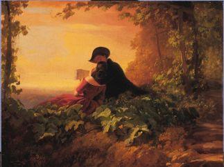 'Die Nachhilfestunde', 1845